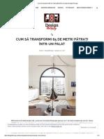 Cum Să Transformi 65 de Metri Pătrați Într-un Palat _ DesignTherapy