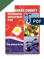 Machakos County Integrated Development Plan CIDP