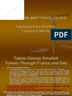 Travellers and Travelogues. Smollett and Sterne