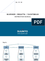 Suunto Regatta Mariner Yachtsman Manual
