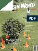 Robin Wood Magazin 1/2009