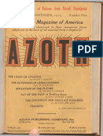 Azoth November 1919