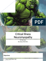 ICU Neuromyopathy ARace