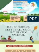 Plan de Estudios de I y II ciclo