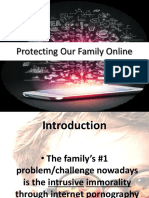 Protecting Our Family Online - 1 Thess. 4.1-8