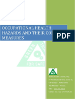Occupational Health Hazards and Their Control Measures in Construction Work