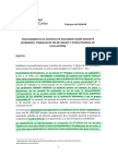 Procedimiento de archivo de documentación docente