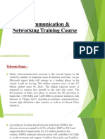 Telecommunication & Networking Training Course