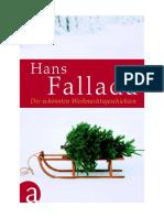 Hans Fallada - Die Schoensten Weihnachtsgeschichten