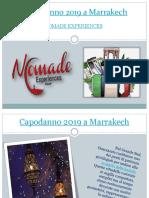 Capodanno 2019 a Marrakech