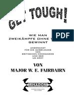Major W E Fairbairn - Wie Man Zweikaempfe Ohne Waffen Gewinnt