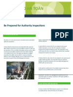 2018 Safety Flash 6 - Be Prepared for Authority Inspections