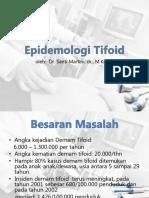 epidemiologi tifoid