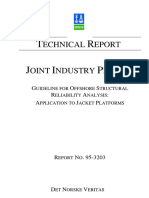 DNV Guidelines For Ofshore Jacket Structure Reliability Analysis.pdf