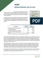97062-2017 Saskatchewan Detailed Occupational Outlook