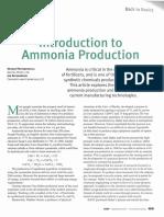 Ammonia Production
