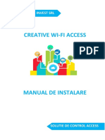 Manual CreativeWiFiAcess 1.8