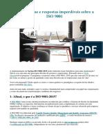 15 Perguntas e Respostas Imperdíveis Sobre a ISO 9001