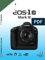 Canon EOS 1D Mark III Manual