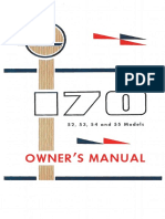 C170 Owners Manual