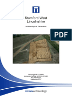 Exeter Down, Stamford - Excavation Report