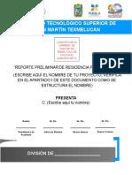 GUIA PARA ENTREGAR ANTEPROYECTO DE RESIDENCIA PROFESIONAL OCTUBRE 2015.doc