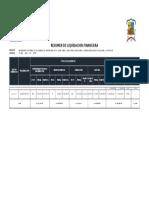 Liquidacion Complementario Chaca Parco Cochas Andas Pucara Macon Desvio Pilcollama