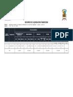 Liquidacion Complementario Huancamachay Torolumi