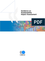 Guidance on Sustainability Impact Assessments