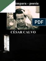 César Calvo - La Lámpara - Poesía