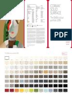 Corian Solid Surface Emea Colour Portfolio 2018