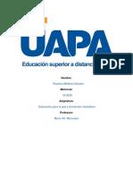 Larea 4 de Educacion Para La Paz