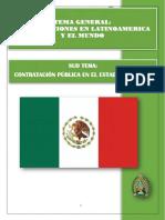 Contrataciones Del Estado en Mexico Ultimo