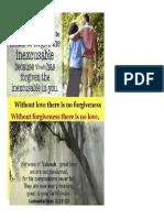 36764 26877 Cm Forgive Inexcusa