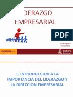 1. Liderazgo Empresarial -Introducción e Importancia Del LE