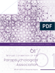 2018 PA Abstracts of Presented Papers