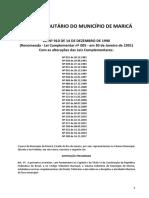 Código Tributário de Maricá Compilado
