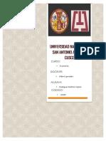 Problemas en El Barrio- Yajaira Rodriguez Mallma