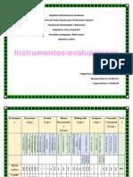 Instrumentos y Evaluaciones Del Grupo #1