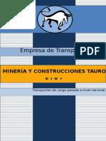 Transportes Broschure