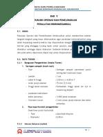 Petunjuk Operational & Pemeliharaan HME Bendungan