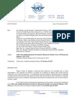 SA211 Convocatoria_Taller Sobre La Implementación ATFM en Las Regiones CAR SAM