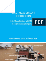 English Slides on Circuit Protection English