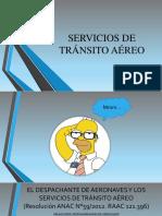 Servicio de transito aereo