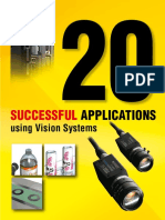 20 Successful Applications Using Vision Systems