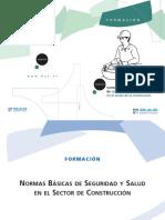 Manual Normas Basicas de Seguridad y Salud en El Sector de La Construccion