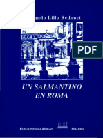 Un Salmantino en Roma - Lillo Redonet, Fernando
