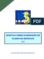 Apostila sobre Elaboração de Planos de Negócios.pdf
