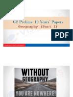 Geo 10 Years Classroom Slides