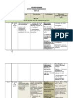 Cronograma auditoria operacional